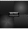Metal backgrounds vector image