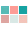 collection colorful seamless minimalistic vector image vector image