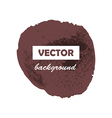 Colorful round paint stain grunge isolated vector image vector image