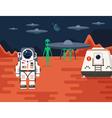 Mars Colonizations 02 vector image vector image