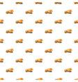 orange truck concrete mixer pattern vector image vector image