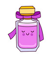 perfume icon in doodle cartoon style isolated on vector image