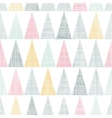 Abstract textile colorful textured triangles vector image