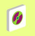 cd dvd computer symbol vector image vector image