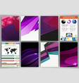 creative purple backgrounds and abstract concept vector image vector image