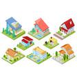 house isometric housing architecture