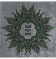 Modern mandala or snowflake design vector image vector image