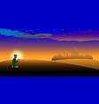 night or twilight scene arabian desert