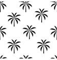 Palm tree seamless pattern vector image vector image