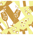 Seamless Party Background vector image