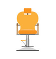barber chair hair salon hairdresser shop design vector image