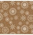 Christmas pattern Winter theme retro texture