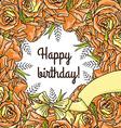 happy birthay vector image vector image