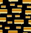 Metallic speech bubble background vector image