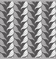 seamless abstract vintage art gray pattern vector image vector image