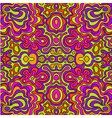 seamless doodle hand-drawn pattern vector image vector image