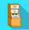 terminal for various types of payment terminals vector image