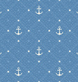 Vintage marine seamless pattern Paper textured vector image vector image