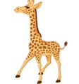 Cute giraffe isolated vector | Price: 3 Credits (USD $3)