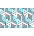 geometric cubes abstract seamless pattern 3d vector image