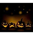 Halloween backgrounds vector image vector image
