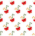 lollipops christmas sweets pattern seamless vector image