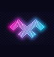 neon outstanding professional elegant trendy vector image vector image