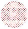 random star polka 13 00 vector image vector image