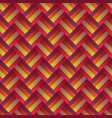 abstract geometrical zig zag stripe pattern vector image vector image