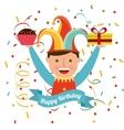 birthday invitation design vector image vector image