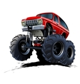 Cartoon monster truck vector | Price: 1 Credit (USD $1)