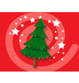 Christmas Tree icon christmas vector image