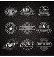 Coffee Shop Emblems 3 vector image