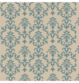 Damask style ornament pattern vector image vector image