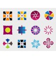 design elements logo icon vector image vector image