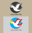 Holyspirit fire icon vector image vector image