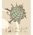 Landmarks around the world vector | Price: 1 Credit (USD $1)