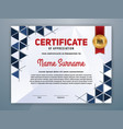 multipurpose modern professional certificate vector image vector image