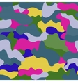 Seamless military camouflage texture Military vector image vector image