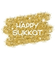 Sukkot greeting card vector image vector image