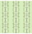 seamless pattern of elegant flourishes vector image