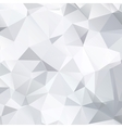 Abstract black and white background of polygonal vector image vector image