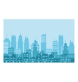 City Skyline design vector image vector image