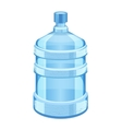 cooler water bottle isolated on white vector image