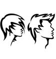 haircut vector image vector image
