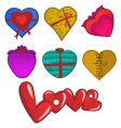 love gift vector image