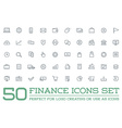 Set of Finance Money Icons and Payments and Income vector image vector image
