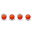 simple made in china and chinese translation 3d vector image vector image