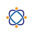 technology communication sign logo vector image vector image