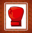 boxing sport vector image vector image